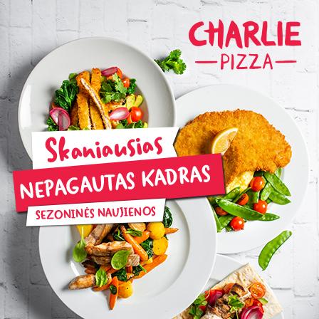 "Naujienos restorane ""Charlie pizza""."
