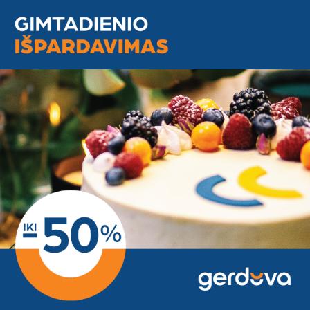 """""""Gerduva"""" švenčia gimtadienį!"""