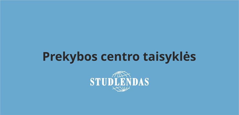"""Aktuali informacija besilankysiantiems """"Studlende"""" artimiausiu metu"""
