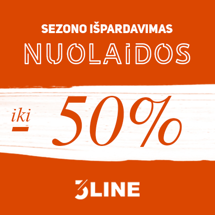 """""""3LINE"""" sezono išpardavimas."""