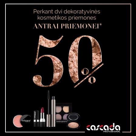 CASCADA grožio prekės profesionalams