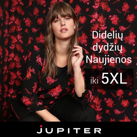 """Rudens/žiemos naujienos """"Jupiter"""" parduotuvėje."""